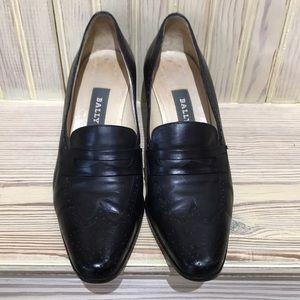 Black BALLY shoes